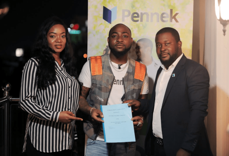 Davido Becomes Pennek's Brand Ambassador (Video) 1 456