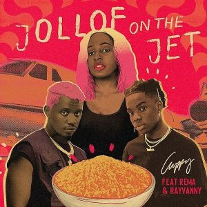 [Music] DJ Cuppy Ft. Rema & Rayvanny – Jollof On The Jet 1 885